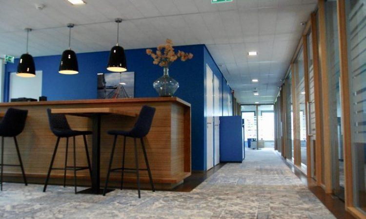 I.D. Kleurrijk kantoor hal blauw
