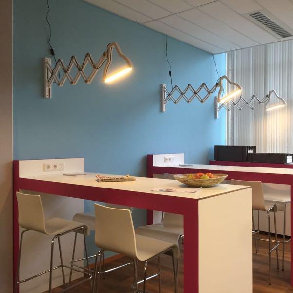 Lichtontwerp Kantoor I.D. Binnenhuisarchitectuur Beverwijk